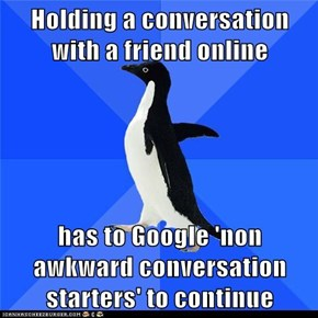 Socially Awkward Penguin: Already Used All Those Up