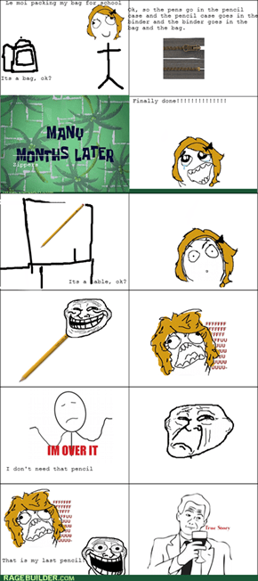 The Troll Pencil