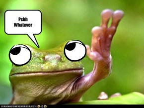 Drama frog