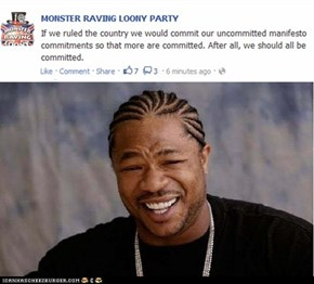 Yo Dawg, i heard you like commitments.