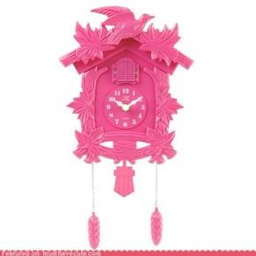 Pink Cuckoo Clock