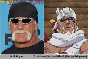 Hulk Hogan Totally Looks Like Killer B (Naruto Shippuden)