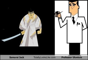 Samurai Jack Totally Looks Like Professor Utonium