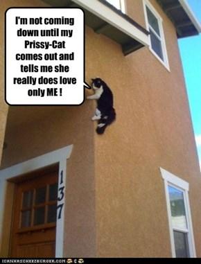 I'LL JUMP--REALLY !