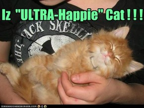 "Iz  ""ULTRA-Happie"" Cat ! ! !"