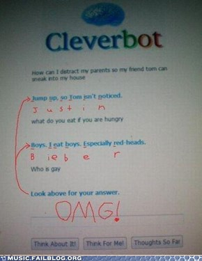 If Cleverbot Was Your Boyfriend