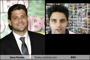 Jerry Ferrara Totally Looks Like RWJ