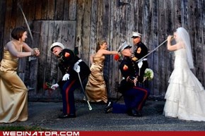 Marines vs. Bridesmaids
