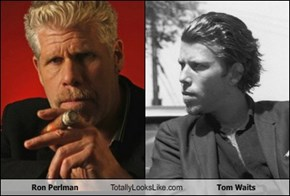 Ron Perlman Totally Looks Like Tom Waits