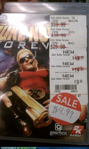 Duke Nukem Forever on Sale