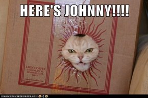 HERE'S JOHNNY!!!!