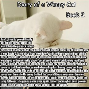 Diary of a Wimpy Cat