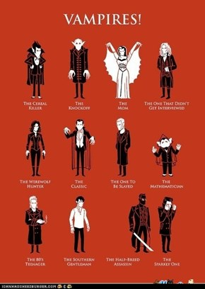 A History of Vampires in Pop Culture
