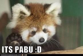 ITS PABU :D