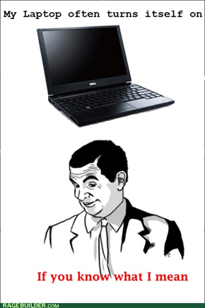 sexual laptop