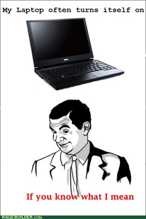 sexual laptop
