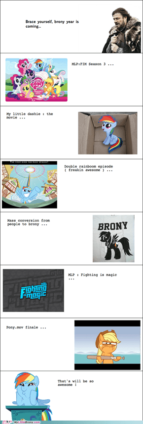 Brace Yourselves for the Best Brony Year