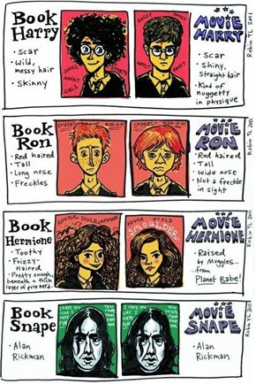 Book Potter vs. Movie Potter