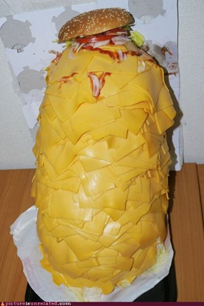 """This Isn't What I Meant By """"Extra Cheese"""""""