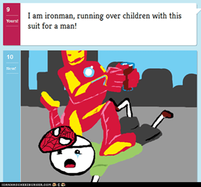 Iron Man Hates Children