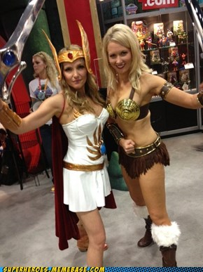From SDCC: She-Ra & Teela