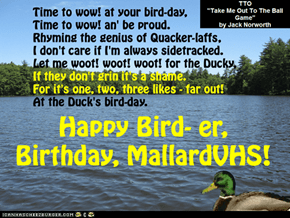 Happy Birthday, MallardVHS!