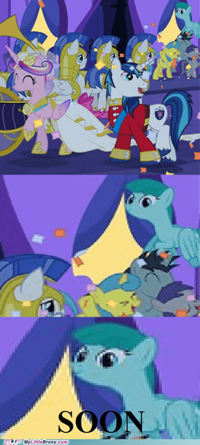 Shining Armor Will Be Mine
