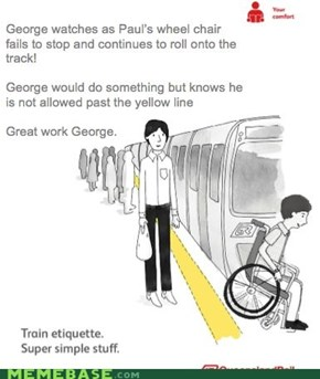 George is a Hero