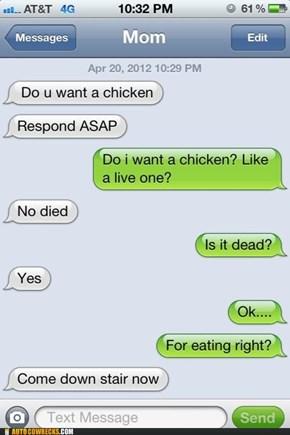 This Kills the Chicken