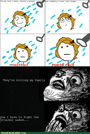 Rage Comics: That Might Scare Him Off!