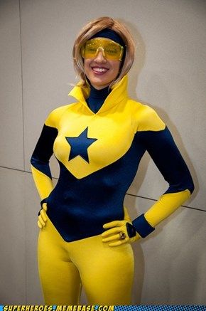 From SDCC: Rule 63 Booster Gold