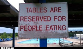 Zombie Segregationist Sign FAIL