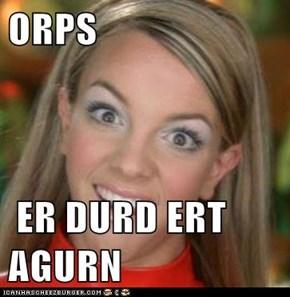 ORPS   ER DURD ERT AGURN