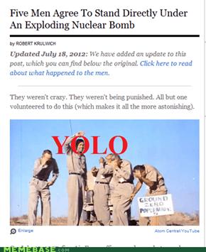 YOLO: Nuclear Edition