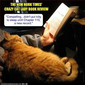 The New Hork Times' Crazy Cat Lady Book Review