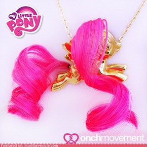Cutest Pony Pendant EVER