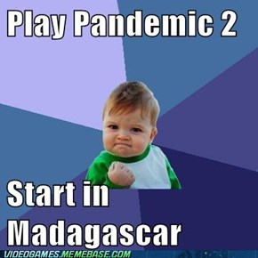 Madagascar isn't so tough now!