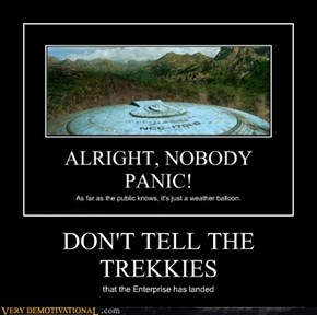DON'T TELL THE TREKKIES