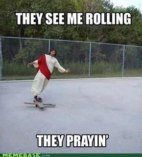 JC Me Skatin'