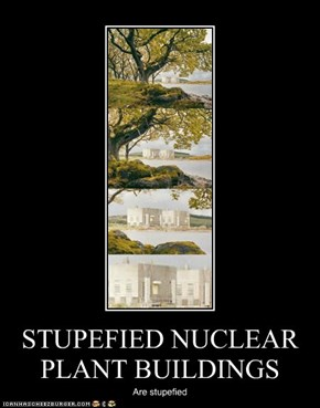 STUPEFIED NUCLEAR PLANT BUILDINGS