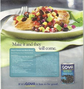 Goya's Making a Big Claim
