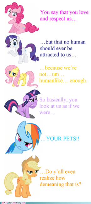 Ponies are people too!