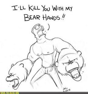 An Un-Bear-Bro-ble Pun