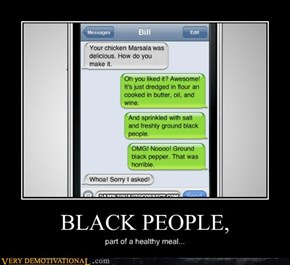 BLACK PEOPLE,