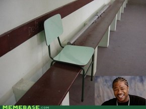 Yo dawg, I heard you like seats...