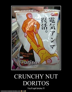 CRUNCHY NUT DORITOS