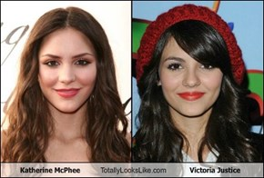 Katherine McPhee Totally Looks Like Victoria Justice