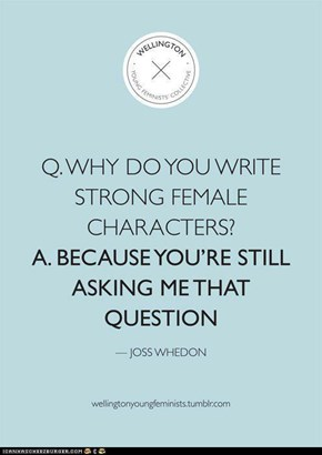Why Joss Whedon is the MAN!