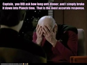 Picard should have known better