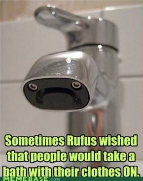 Sad Faucet is Sad